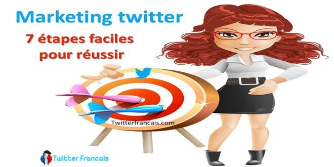 7 étapes failces pour réussir son marketing sur twitter
