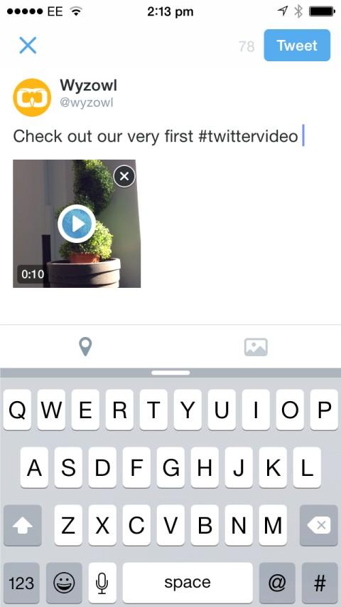 Ajouter une description à votre video twitter