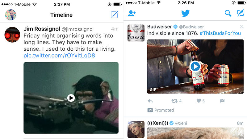 Tweet bot VS Twitter
