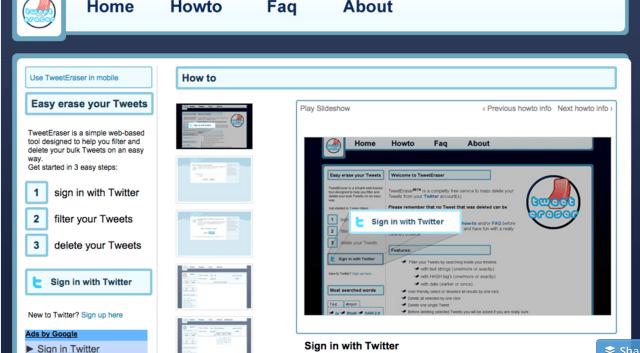tweet eraser